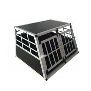 Cage-Transport-Chien-Double-Aluminium-Large