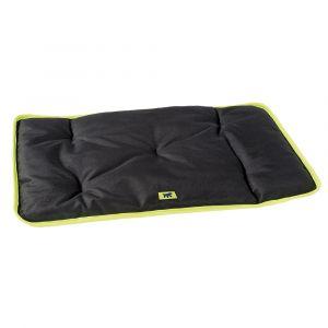 Coussin pour chien en tissu déperlant et anti-rayures Jolly 110 noir - Ferplast