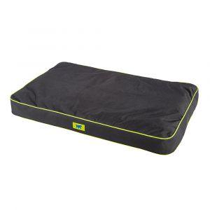 Coussin-pour-chien-en-tissu-résistant-déperlant-Polo-110-noir-taille-L/XL---Ferplast
