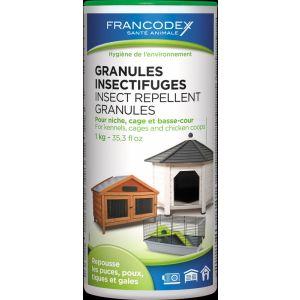 Granulés-insectifuges