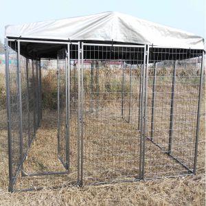 Kit-chenil-pour-chien-large-avec-toit-4-x-2,40-x-1,80-m