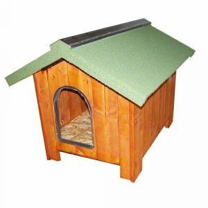 niche-a-chien-bois-epais-europa-60-toit-vert-taille-xxs