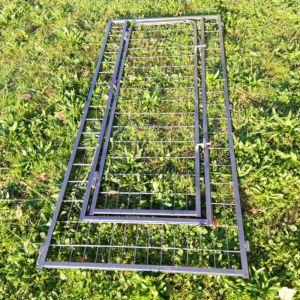 Panneau de porte pour chenil chien sur mesure en métal 80x180 cm